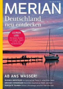 Merian Deutschland neu entdecken - ab ans Wasser!