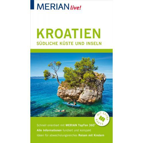 MERIAN live! Reiseführer Kroatien Südliche Küste und Inseln
