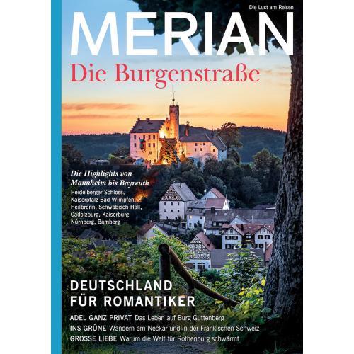 Merian Magazin Die Burgenstraße 10/2020