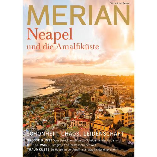 Merian Magazin Neapel und Amalfiküste 9/2019