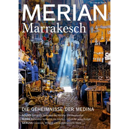 Merian Magazin Marrakesch 12/2019