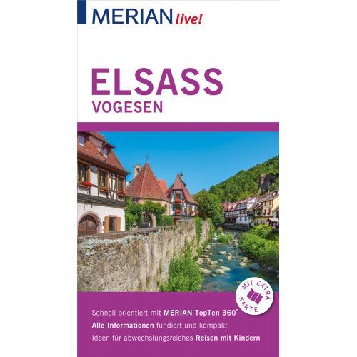 MERIAN live! Reiseführer Elsass Vogesen