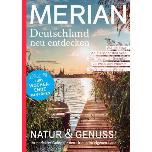 Merian Magazin Deutschland neu entdecken 08/2020
