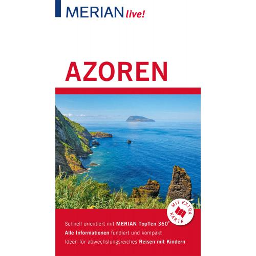 MERIAN live! Reiseführer Azoren