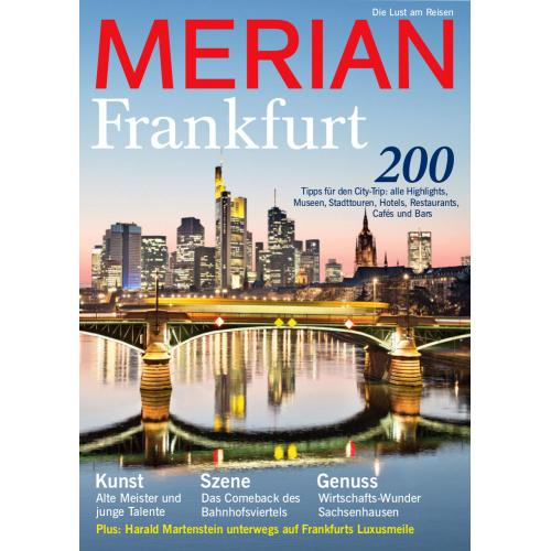 Merian Magazin Frankfurt 05/2016
