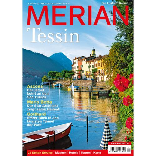 Merian Magazin Tessin 07/2009