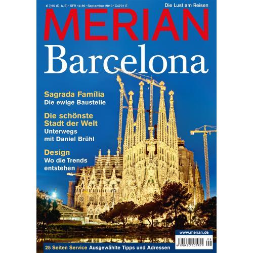 Merian Magazin Barcelona 09/2010