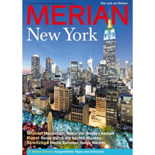 Merian Magazin New York 11/2010