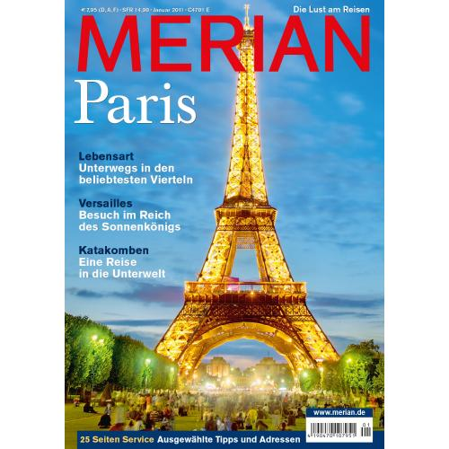 Merian Magazin Paris 01/2011