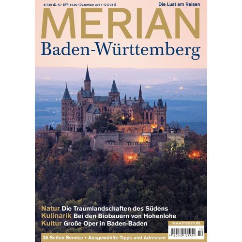 Merian Magazin Baden-Württemberg 12/2011
