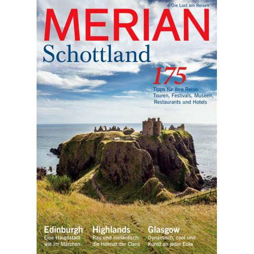 Merian Magazin Schottland 08/2016