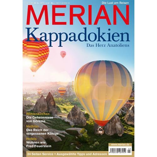 Merian Magazin Kappadokien 03/2012