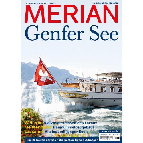 Merian Magazin Genfer See 07/2012