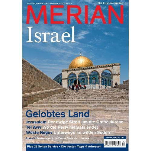 Merian Magazin Israel 12/2012