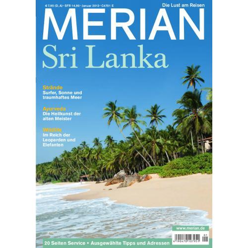 Merian Magazin Sri Lanka 01/2013