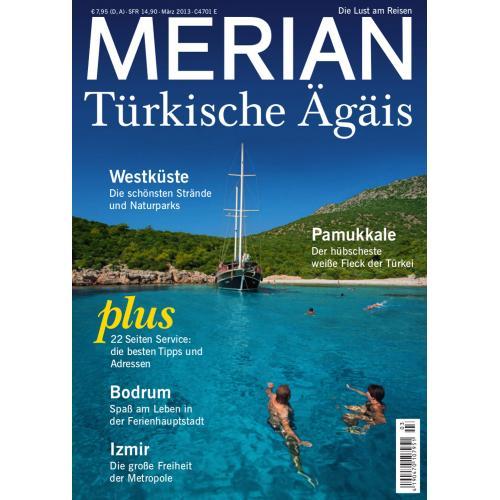 Merian Magazin Türkische Ägäis 03/2013
