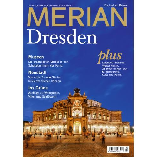Merian Magazin Dresden 12/2013