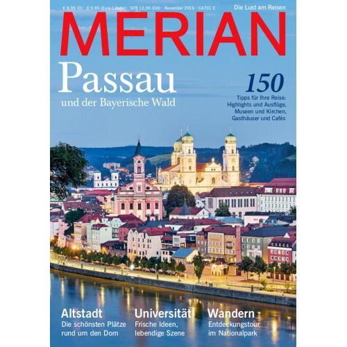 Merian Magazin Passau 11/2016