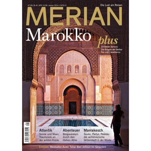 Merian Magazin Marokko 01/2014