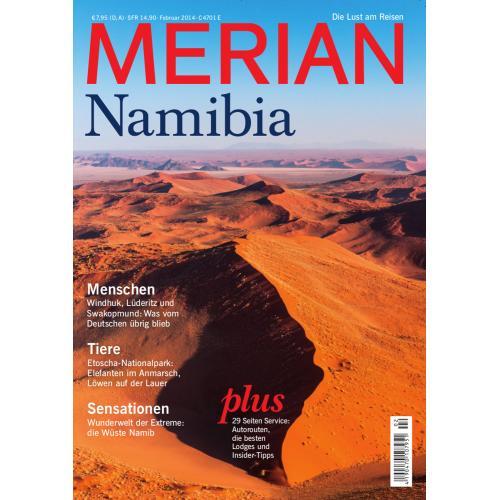 Merian Magazin Namibia 02/2014