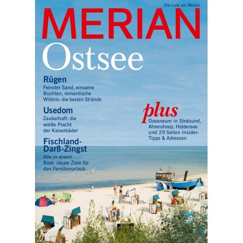 Merian Magazin Ostsee: Rügen, Usedom, Darß 08/2014