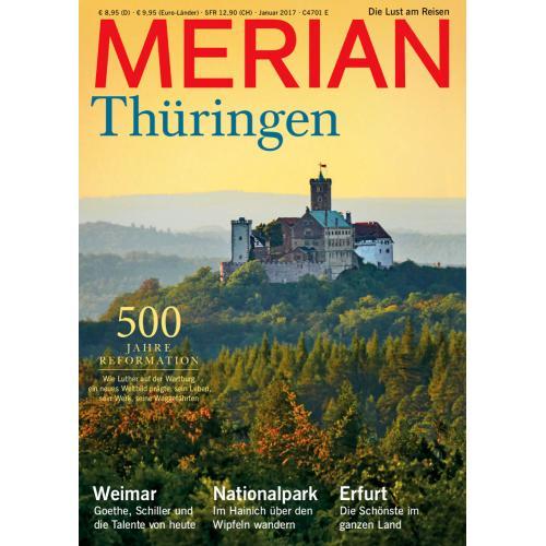 Merian Magazin Thüringen 01/2017