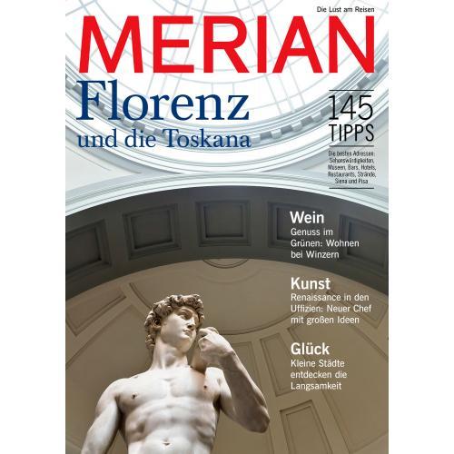Merian Magazin Florenz und die Toskana 06/2017