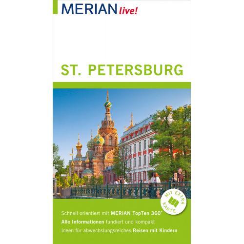 MERIAN live! Reiseführer St. Petersburg