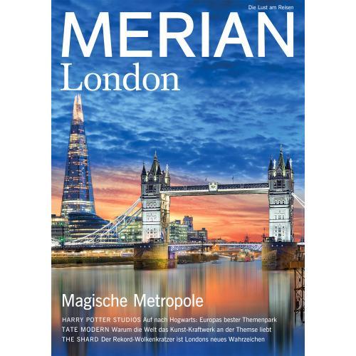 Merian Magazin London 08/2018