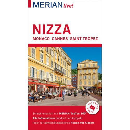MERIAN live! Reiseführer Nizza Monaco Cannes Saint-Tropez