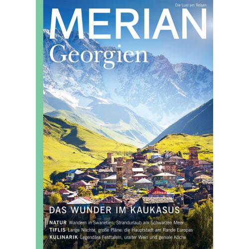 Merian Magazin Georgien 02/2020