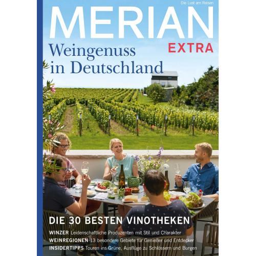 Merian EXTRA Weingenuss in Deutschland 01/2021