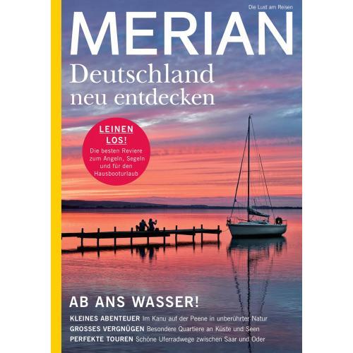 Merian Magazin Deutschland neu entdecken 08/2021