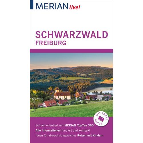MERIAN live! Reiseführer Schwarzwald