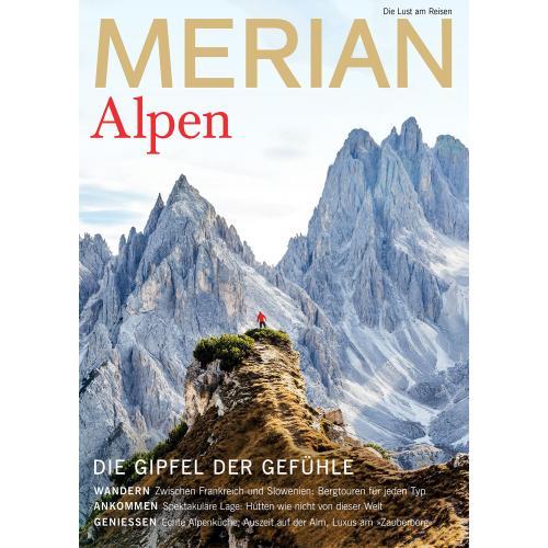 Merian Magazin Alpen 8/2019