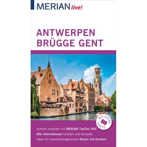MERIAN live! Reiseführer Antwerpen